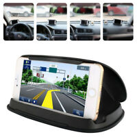 Car Truck Dashboard Phone Holder GPS Holder Mount Black 3.0-6.8 Inch Universal