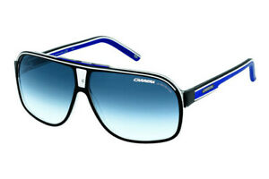 Carrera Sunglasses Grand Prix 2/S 0T5C 08 Black Crystal Blue Gradient New 64mm