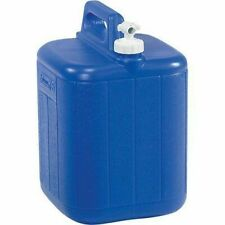Coleman Camping Picnic 5 Gallon Water Carrier Containers with Spigot & Handle