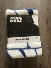 New Star Wars Plush Throw Millennium Falcon Spaceship Blanket 46 x 60 DisneyHw66