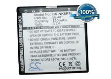 NEW Battery for Nokia 6500 6500 Classic 6500C BL-6P Li-ion UK Stock
