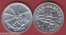 S85 SAN MARINO 1 LIRA 1978  L'OMBRELLAIO  DA SERIE DIVISIONALE KM 76  FDC / UNC
