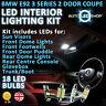 BMW E92 3 SERIES COUPE LED INTERIOR UPGRADE COMPLETE KIT SET BULB XENON WHITE