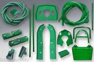 Lambretta LI Body Rubber Pack Kit in Green
