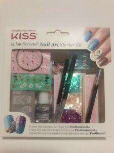 KISS Salon Secrets Nail Art Design Starter Kit 60523 NSPK01