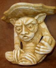 Gargoyle Mythical Shelf Wall Decor 3D Statue Medieval Sconce Bracket