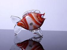 Murano Glasfisch - orange