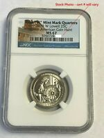 2019-W Lowell National Park Quarter NGC MS-67 West Point Mint, STUNNING!