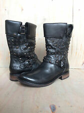 UGG  CONOR STUDS LEATHER MOTO BOOT WOMENS  US 6 Nib