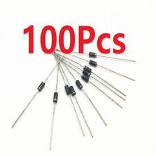 100Pcs New 1N4006 Diode 1A 800V IN4006 DO-41 Silicon Rectifier Diodes
