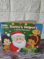 Fisher-Price Little People: Santa's Helpers by Mitter, Matt Christmas Book Flaps