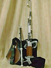 UILLEANN Pipe AFRICAN BLACK WOOD zumacreationz