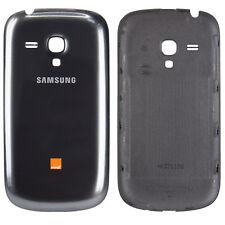 Samsung Galaxy S3 Mini Tapa de Batería Funda la Cubierta Trasera Carcasa Gris