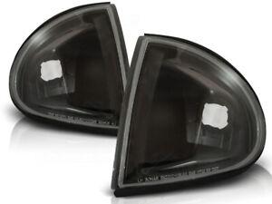 Front direction for Honda Crx Del Sol 1992 1993 1994 1995 1996 1997 VR-492 Black
