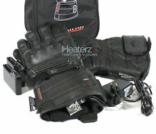 Highway 21 Radiant 7V Lithium Powered Leather Heated Motorcycle Gloves