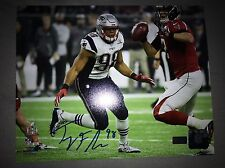 New England Patriots Trey Flowers Signed 8x10 Picture