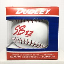 Dudley Softball Sb-12 Part 43-311P Cork .47 Center Leather with Red Stitch New!