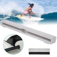 """10"""" Center Fin Center Tail Box Fin Black White SUP Paddle Board Longboard Nylon"""