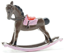 Dollhouse Miniatures 1:12 ScaleRocking Horse, Brown #Im65684
