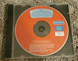 Fisher Price Ready for School Reading  PC CD Computer game Disc & Case Only