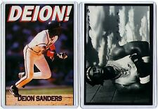 6 COUNT OF 1990s NIKE & COSTACOS POSTER CARDS DEION SANDERS big d prime time ad