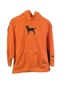 The Black Dog Hoodie Youth X-Large Sweatshirt Orange Pullover two front pockets
