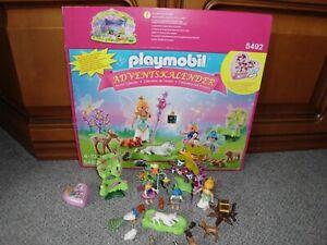 Playmobil Adventskalender5492 Einhorngeburtstag im Feenland(1Teil fehlt)