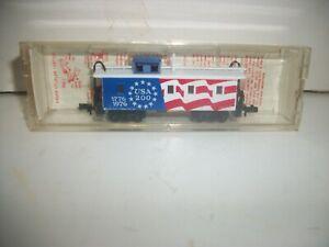 "1975 Kadee Micro Trains BICENTENNIAL 34"" CABOOSE 1776-1976 N scale NEW"