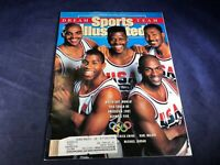 O3-29 SPORTS ILLUSTRATED MAGAZINE - FEBRUARY 18, 1991 -USA BASKETBALL DREAM TEAM