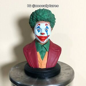 "The Weeknd Custom 3D Printed ""Joker"" Bust Statue After hours Kissland Starboy"