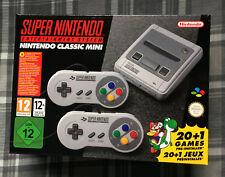 * NAGELNEU * Super Nintendo SNES Mini - 21 Klassische Spiele! Mario Zelda Metroid