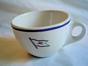 VINTAGE MOBIL OIL COMPANY COFFEE CUP SYRACUSE CHINA RESTAURANT WARE PEGASUS
