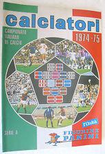 CALCIATORI 1974-1975 - ALBUM PANINI RISTAMPA L'UNITA'