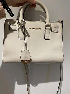 Michael Kors Crossbody Bag White Medium