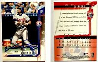 Vladimir Guerrero Signed 2001 Leaf Rookies and Stars Card #27 Montreal Expos