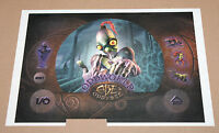Oddworld: Abe's Oddysee very Rare Sticker Set for the Old Big Playstation 1 PS1