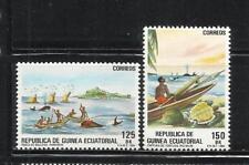GUINEA ECUATORIAL. Año: 1984. Tema: PESCA ARTESANAL.
