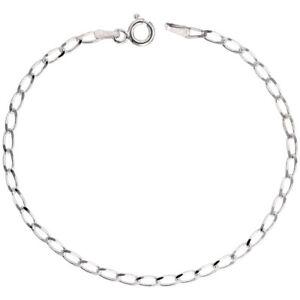 "3.8mm Women's Ankle Bracelet 925 Sterling Silver long cuban link anklet 9"",9.5"""