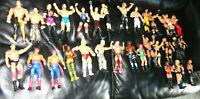 Vintage Lot Of 31 Wrestling Action Figures Wrestlers WWF WWE Matel