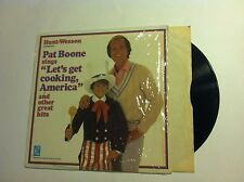 Pat Boone Let's Get Cooking America Sealed Hunt-Wesson Vinyl LP ex/ex vinyl lp