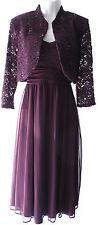 R&M Richards 2 pieces set jacket dress lace elegant occasion knee lenght sz 12P