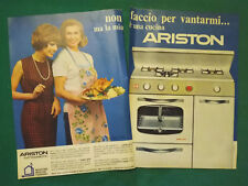 Pubblicita'Advertising Werbung Vintage ARISTON elettrodomestici cucine 1967(A10)