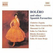 Bolero and Other Spanish Flavours Cd New