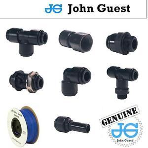 15mm John Guest Pushfit Pneumatic Fittings For Water Air Vacuum Filter Pump Pipe