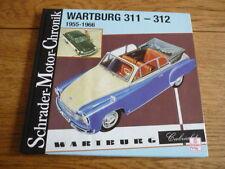 WARTBURG 311 312 BROCHURE BOOK  jm
