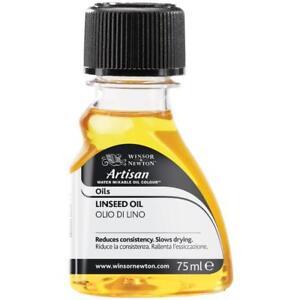 Winsor & Newton Artisan Water Mixable Oil Paint Medium Linseed Oil 75ml