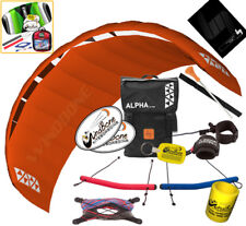 HQ4 Alpha 2.5M Kite Quad Handle 4-Line Foil Trainer Traction Buggy Jumping +Kite