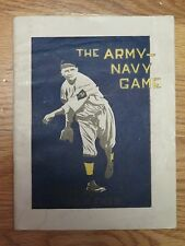 The ARMY - NAVY Baseball Game May 29 1922 Worden Field Program General MacARTHUR