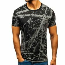 Shirts summer T-shirts Sexy Simple Luxury Personality Clothes shirt Men sports