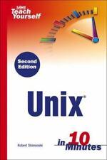 Sams Teach Yourself Unix in 10 Minutes (2nd Edition) (Sams Teach Yourself)